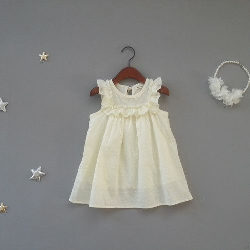 Marvin Lemon Dress (2C)  I know a little girl named Mallory who MUST have one of these.