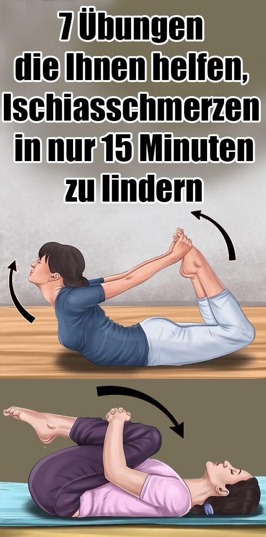 7 Übungen die Ihnen helfen, Ischiasschmerzen in nur 15 Minuten zu lindern