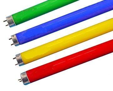 T8 LED Tube - Green / Red / Yellow / Blue  #energy #green #lamp #solar #efficient #design #ledlights #led #futurelight #eco