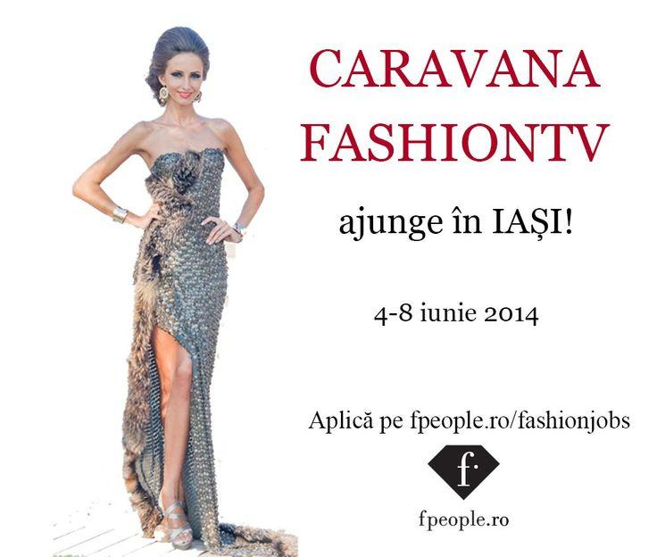 #CaravanaFashionTV ajunge la Iași! Ai șansa de a intra în echipa profesionistă de modele FashionTV România. Aplică aici -->>http://www.fpeople.ro/fashionjobs/job_161884  #fpeoplero #scouting #models #casting #iasi