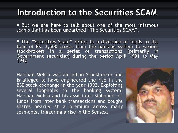 Stock Broker Scams