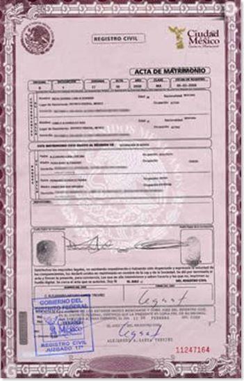 Acta Nacimiento Formato Blanco Matrimonio Yahoo Xico Respuestas