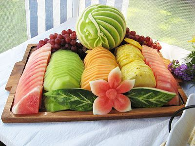 20 Great Ideas for Fruit Decoration - Style Motivation