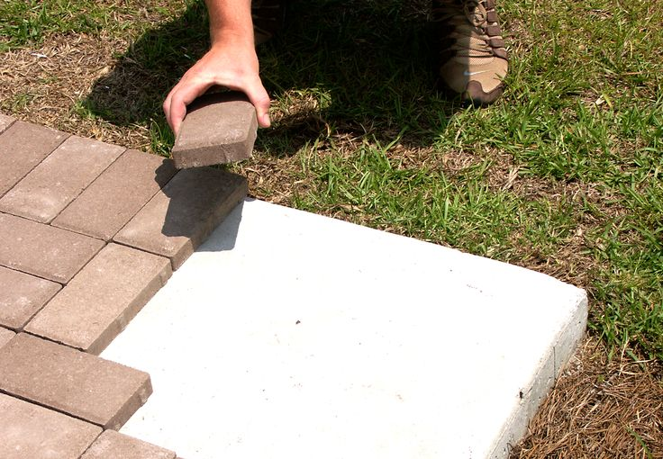 How To Properly Install 1″ Pavers Over Concrete – Lowcountry Paver