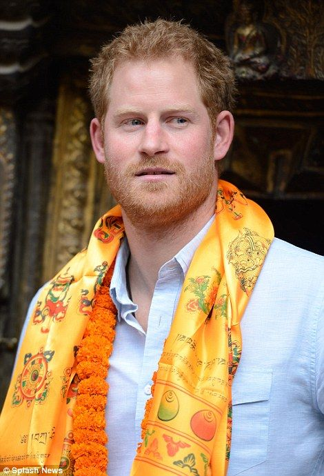 Prince Harry visits earthquake-damaged areas in Kathmandu on Nepal trip | Daily Mail Online