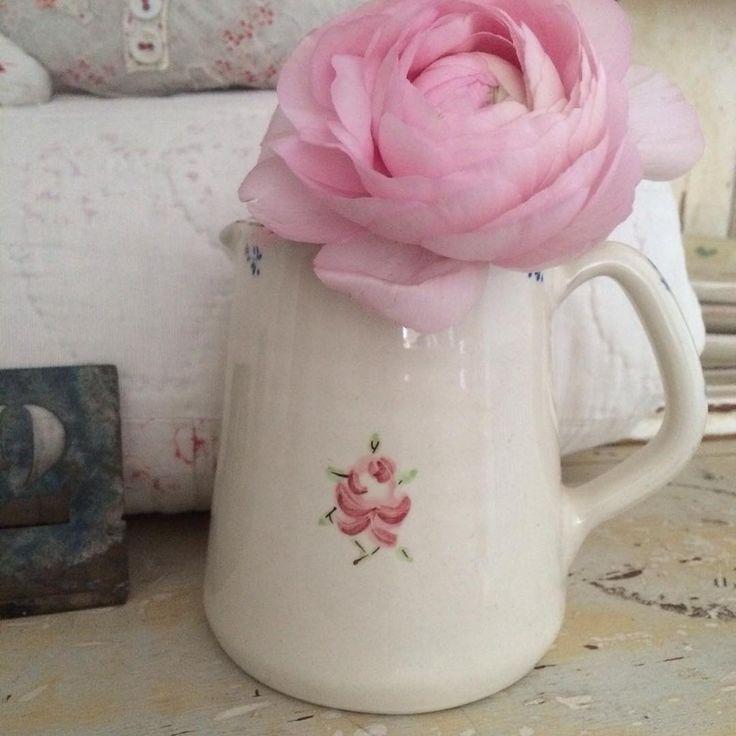 Vintage Rose Tattoo small jug