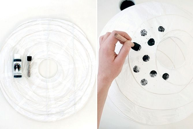 DIY: Creative Paper Lamps // Lav en kreativ lampe