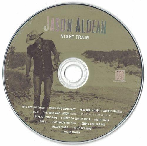 Jason Aldean Night Train 2012 CD Professionally Cleaned
