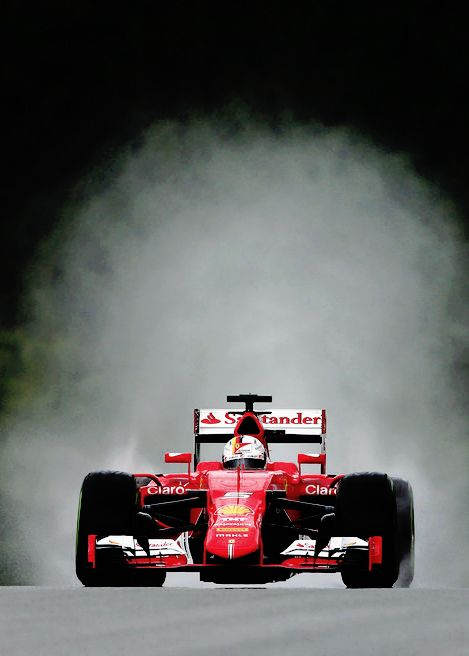 Sebastian Vettel / Scuderia Ferrari / Formula 1 / World Champion / Germany