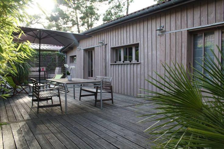 adorable maison en bois au centre du cap ferret bassin d 39 arcachon homelidays saint jean. Black Bedroom Furniture Sets. Home Design Ideas