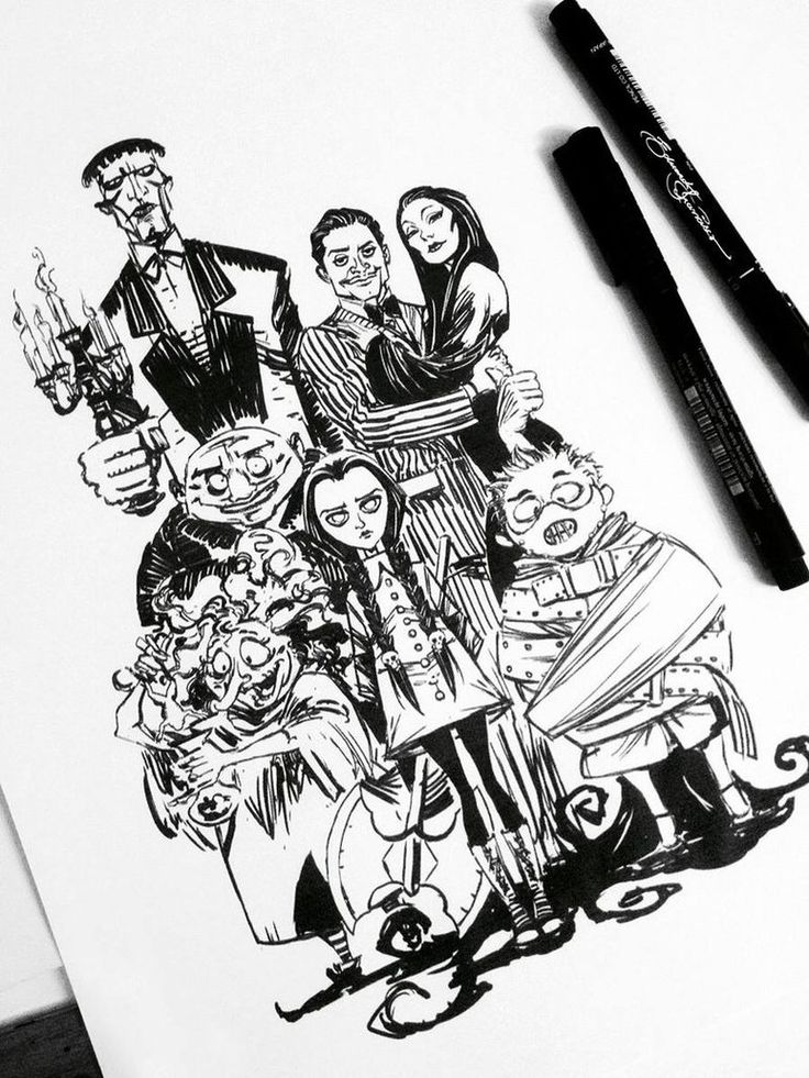 The Addams Family by eDufRancisco
