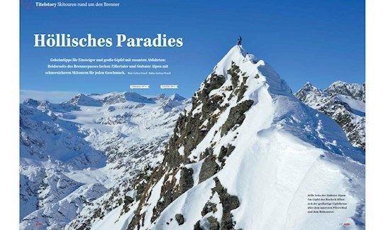 Schneesicher: Skitouren rund um den Brenner