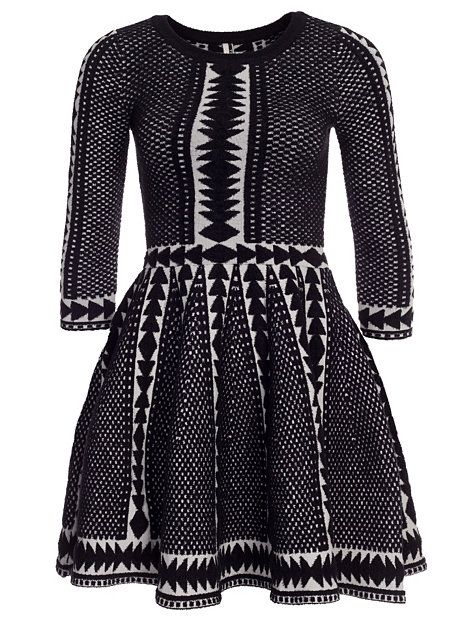 Nelly.com: Fit And Flare Jumper Dress - Topshop - kvinna - Grey. Nyheter varje dag. Över 800 varumärken. Oändlig variation.