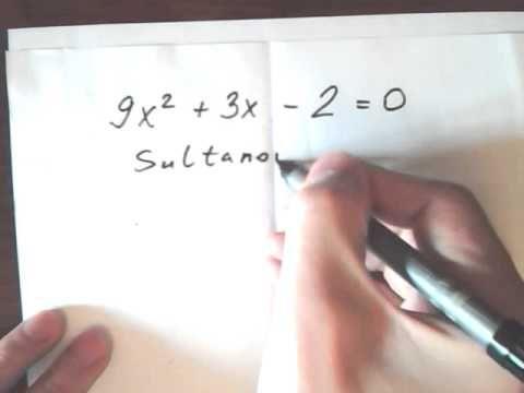 Как быстро решить квадратное уравнение без дискриминанта #repetitor Репетитор математики и физики. Подготовка к ЕГЭ и поступлению 3000 руб/ 40 минут