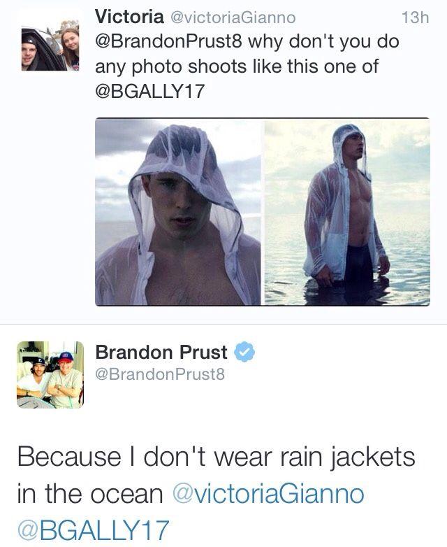 Prusty tweet