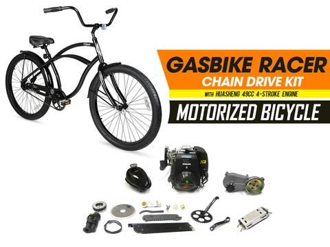 This 4-Stroke Motorized Bicycle Kit includes: 26