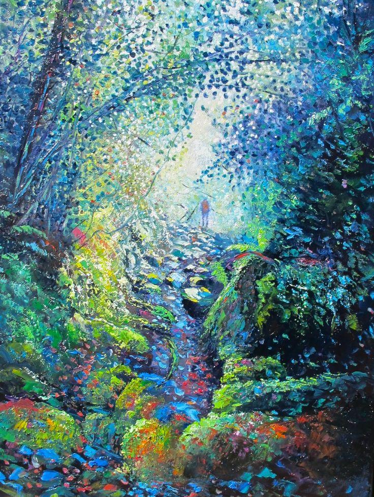 Bush Treck - By Helen Blair http://shop.helenblairsart.co.nz