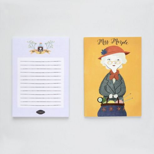 Libreta y bloc Miss Marple