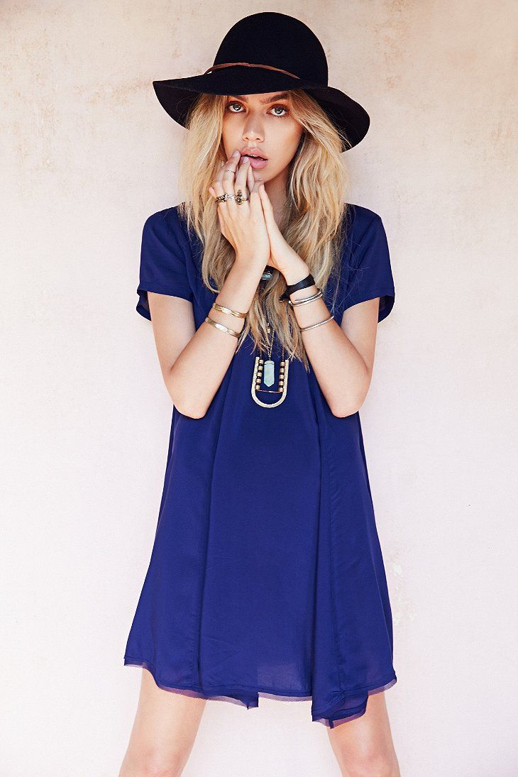 Silence + Noise Witchy T-Shirt Dress - Urban Outfitters