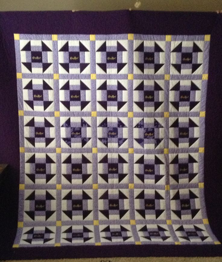 Crown Royal quilt.                                                                                                                                                                                 More