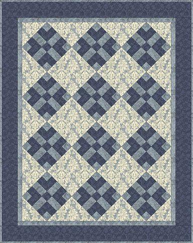 Got Blues? = Monochromatic Quilt