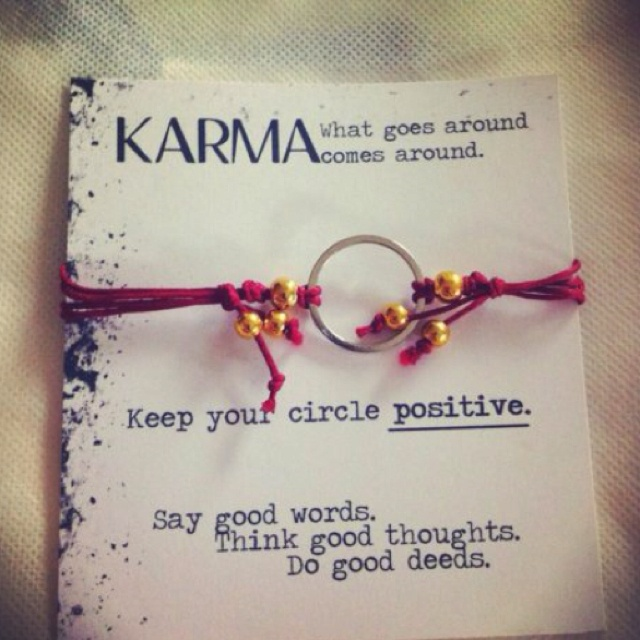 Karma bracelet