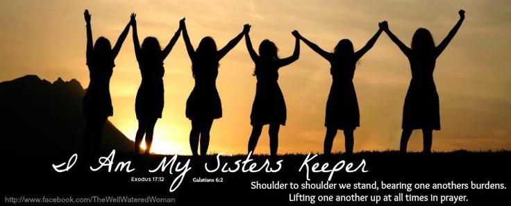 I Am My Sisters Keeper!