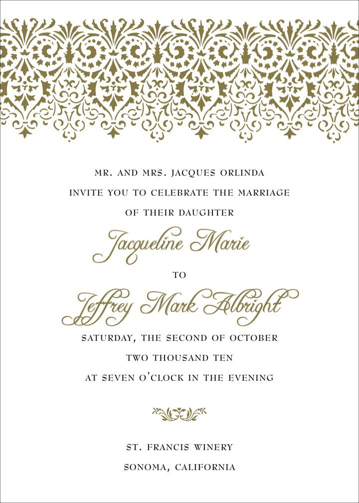 Best 25+ Formal invitation wording ideas on Pinterest | Wedding ...
