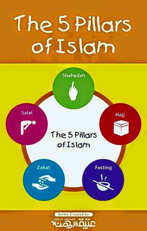 a look at the five pillars of islam The first of the five pillars of islam is the shahada (arabic, testimony or witness) the shahada is the muslim profession of faith, expressing the two simple, fundamental beliefs that make one a muslim: la ilaha illa allah wa-muhammad rasul allah.