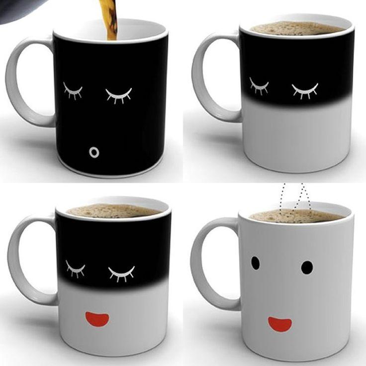 Las 25 mejores ideas sobre tazas magicas en pinterest y - Taza termica para cafe ...