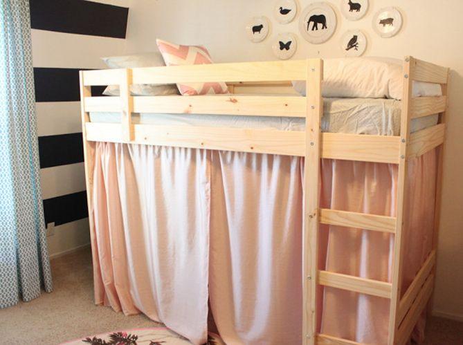 Structure lits superposés Mydaln = un lit mezzanine pour enfant