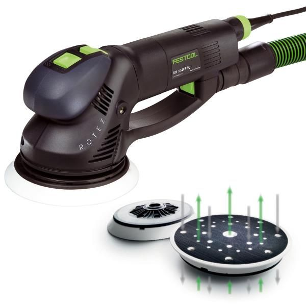 Buy Festool Rotex Dual Mode Sander with New Multi-Jetstream Design with T-Loc at Woodcraft.com