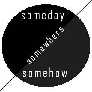Przemysław Pałyga - wlepka 2014 #wlepka #komwiz #design #someday #somewhere #somehow