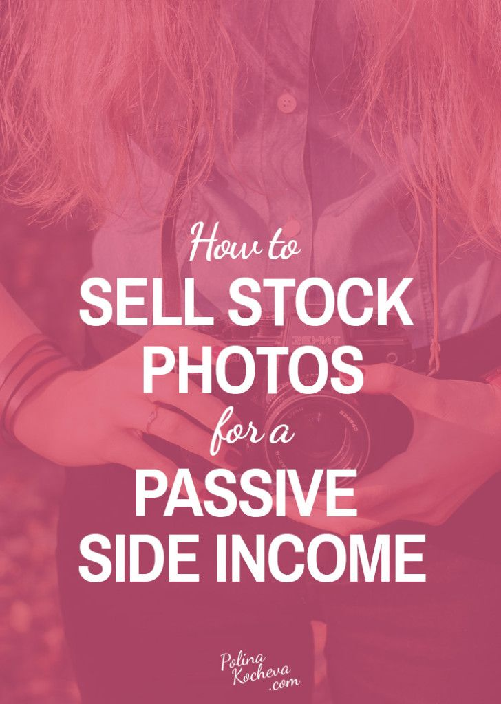 How to sell stock photos for income