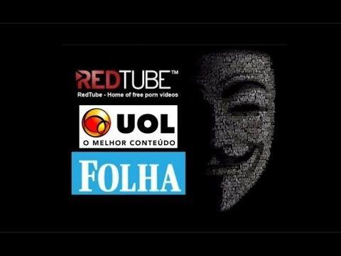 REDTUBE HACKER! UOL E FOLHA HACKEADOS REDIRECIONANDO PARA O REDTUBE