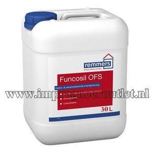 Funcosil OFS wordt gebruikt voor het behandelen van minerale bouwmaterialen, vloeren en wanden binnen en buiten welke neiging hebben tot vervuiling door olie, vet, e.d.