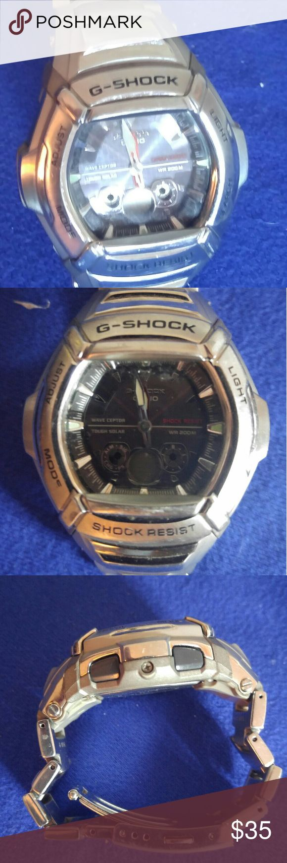 Mens G Shock wathch Very nice G-Shock watch for men everything works on it keeps perfect time really nice watch for that spending the new ones prices G-Shock Accessories Watches