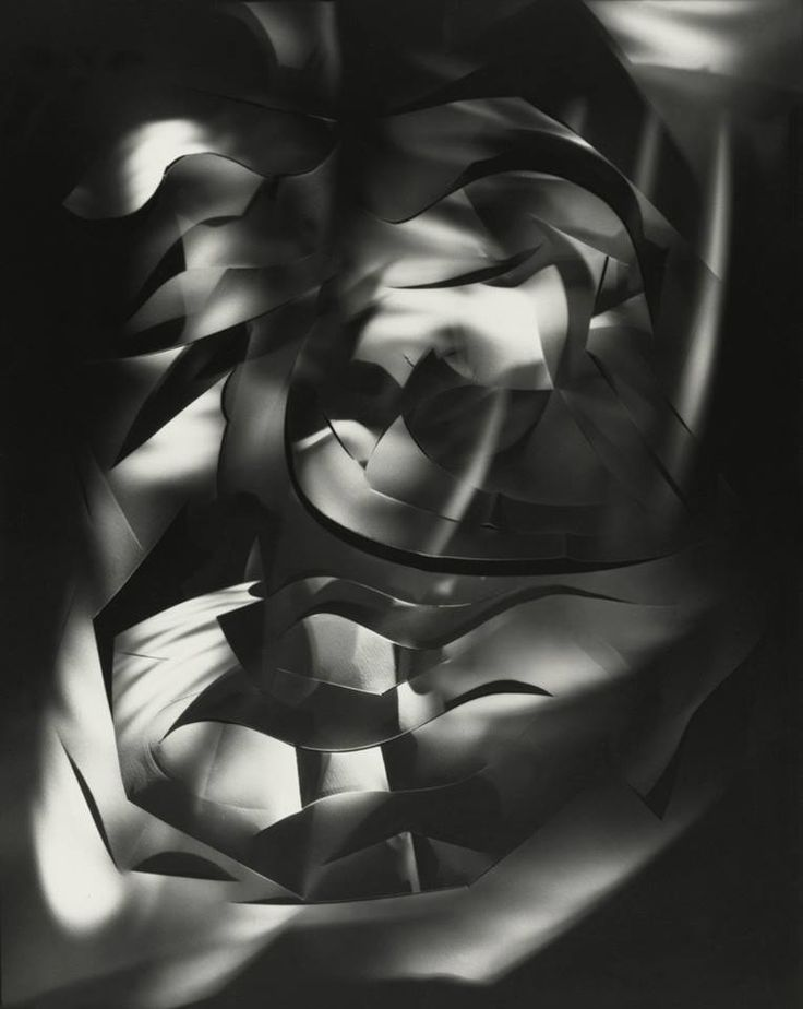 Still-life: Cut-paper Abstraction by Francis Bruguière, c.1926