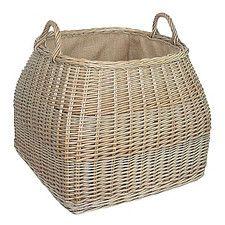 Tapered Square Log Basket