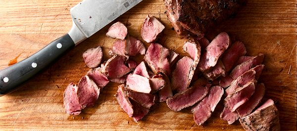 wild game recipes collected by Hank Shaw    sliced venison heart
