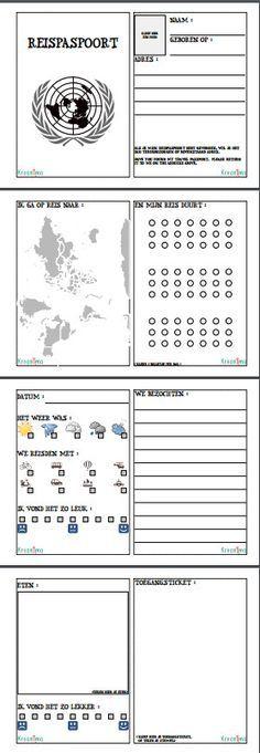 Op reis?  Druk deze leuke travel journal voor kinderen af en plak hem in een A5 schriftje voor een super leuk 'dagboekje' voor jouw kinderen! Travel journal printable voor kinderen - Gratis https://blog.kreanimo.com/travel-journal-printable-gratis/