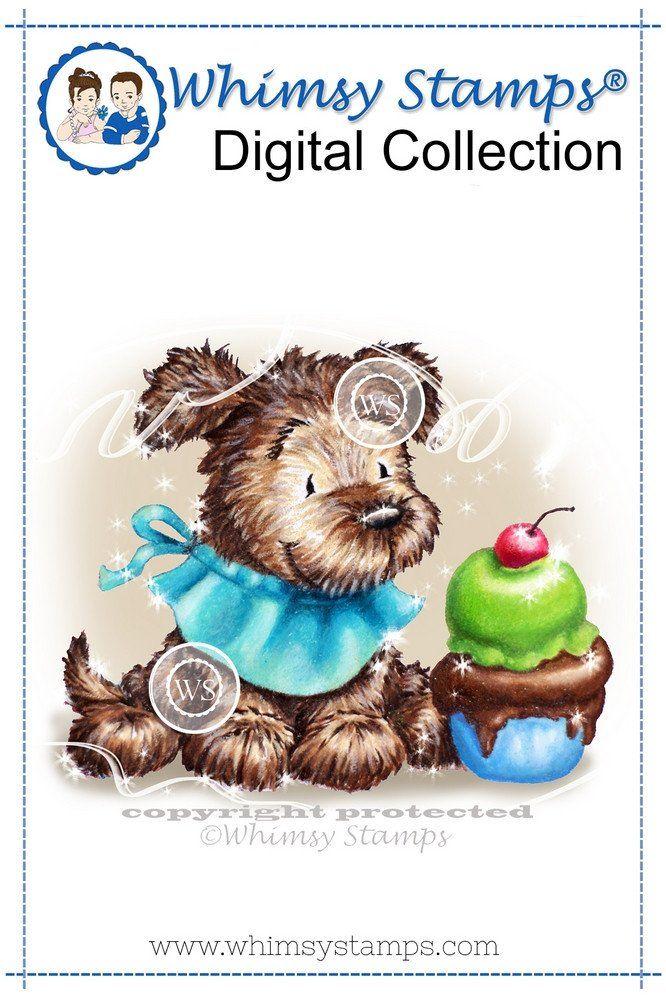 Doggie Ice Cream - Digital Stamp