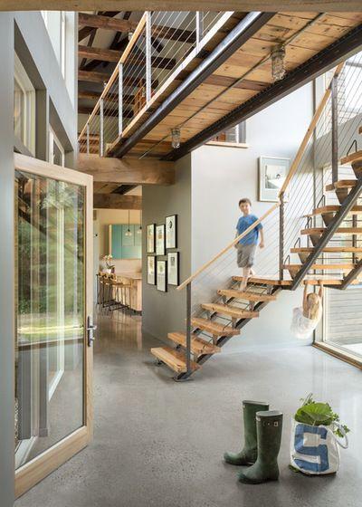 Stiegen, Treppen, Umbau, Haus, Modernes Bauernhaus, Moderne Scheune,  Betonhäuser, Haus Innenräume, Kleine Häuser
