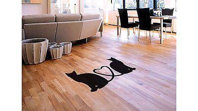 Cats Love Floor Decoration Sticker Decal Floor art Kitchen Decal Vinyl tr1849