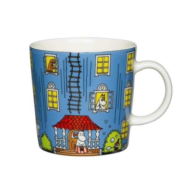 Moomin 70 years Special Edition mug by Arabia