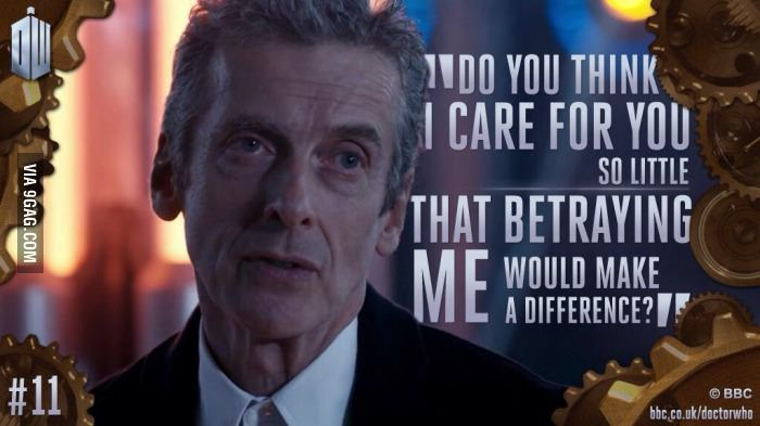 One of the best quote from Peter Capaldi as the Doctor!