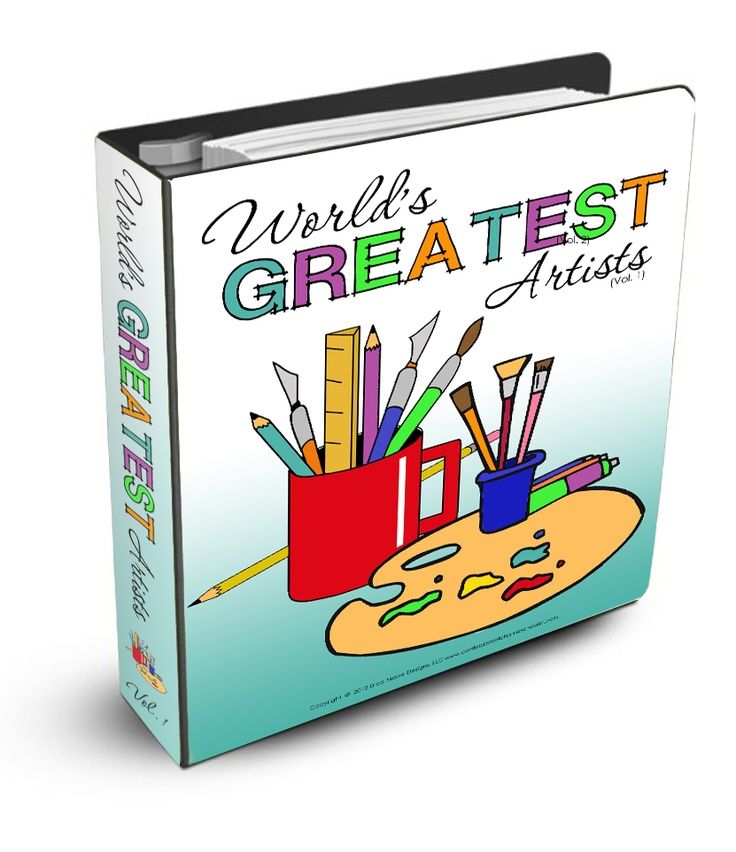 Worlds Greatest Artists 1 (Confessions of a Homeschooler)