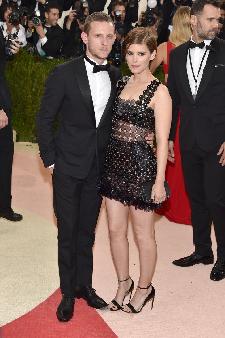 Pin for Later: Celebrity Couples Were Dressed to the Nines For the Met Gala Jamie Bell and Kate Mara