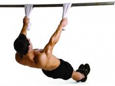 Inverted Rows; Build Your Back Without Weights