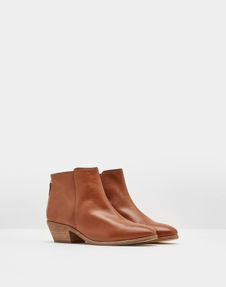 Langham Tan Ankle Boot | Joules UK